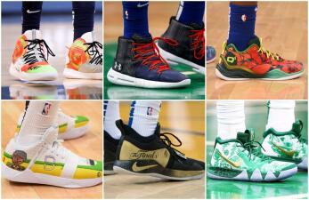 La creatividad y el diseño se toman los pies de las estrellas de la NBA