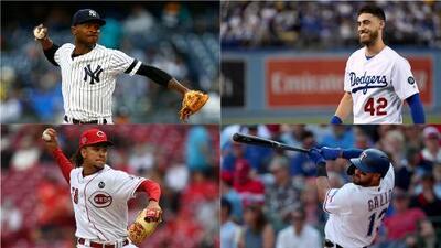 ¿Cuáles son los mejores lanzadores y peloteros hasta el momento en la MLB?