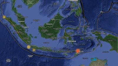 Fuerte sismo sacudió región de Indonesia en la madrugada