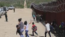 La cantidad de menores no acompañados en la frontera sur se redujo a un 3 por ciento, según cifra oficiales