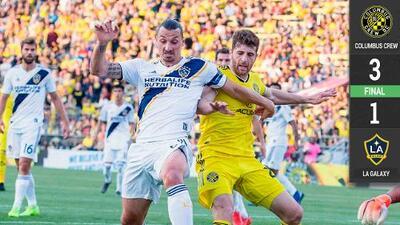 Jonathan dos Santos sale lesionado en derrota del LA Galaxy en Columbus