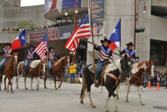 Desfile del Rodeo Houston 2012