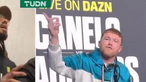 """Canelo responde insultos a Andrade: """"Eres un boxeador horrible"""""""