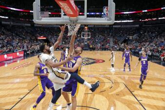 Anthony Davis volvió a guiar a los Pelicans en una nueva jornada de la NBA