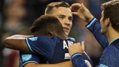 Jordan Morris anota doblete para Seattle Sounders en amistoso contra West Ham United