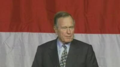 Muere el ex presidente George H. W. Bush