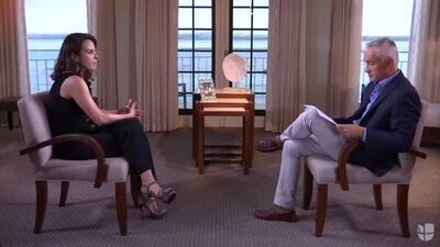 Kate del Castillo confiesa que tiene temor de regresar a México