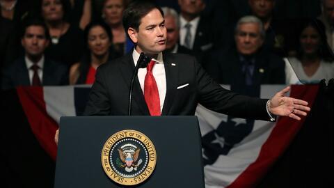 Marco Rubio: ''EEUU está dispuesto a estrechar su mano y ayudar al pueblo de Cuba, pero no al opresor''