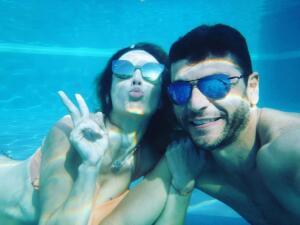 Jacky Bracamontes y Martín Fuentes celebraron su aniversario con romántico viaje