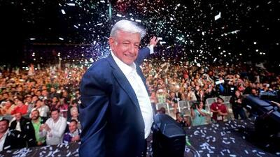 En video: El discurso completo de AMLO desde el Zócalo tras ganar la elección presidencial en México