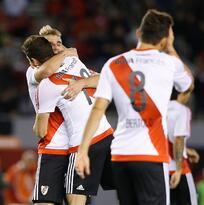 River Plate vence 4-3 a Trujillados y podrá seguir defendiendo su título en Libertadores