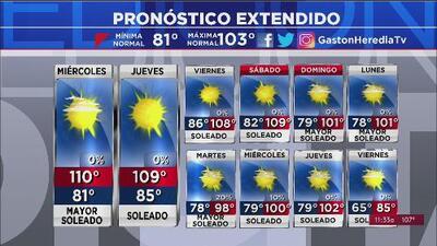 Activan alerta por altas temperaturas y elevados niveles de ozono en Arizona
