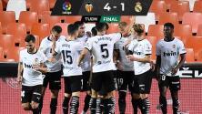 Golea Valencia al Real Madrid con triplete de Carlos Soler
