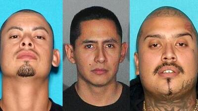 The violent history of three fugitive leaders of the MS-13 gang in Los Angeles