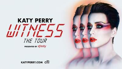 Katy Perry makes 'Witness' tour announcement
