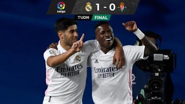 Con toque de fortuna, Vinicius dio triunfo al Real Madrid