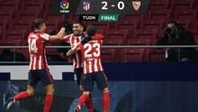 Atlético de Madrid se afianza como líder de LaLiga