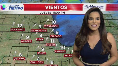 Ventana al Tiempo: Posibilidad de lluvias y tormentas en Chicago este viernes