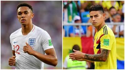 Las estadísticas entre Inglaterra y Colombia favorecen a los ingleses
