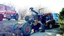 Campesino de 82 años muere atropellado por tractor mientras trabajaba en huerto de almendros