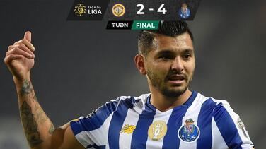 Porto y el Tecatito sufren, pero avanzan a Cuartos de Final en la Copa de Portugal