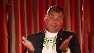 Entrevista exclusiva con el presidente Rafael Correa