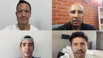 """""""Son unos guerreros"""", el mensaje del futbol mexicano"""