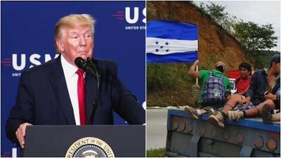 Trump amenaza con retirar ayuda a Guatemala y Honduras por no frenar el flujo de migrantes
