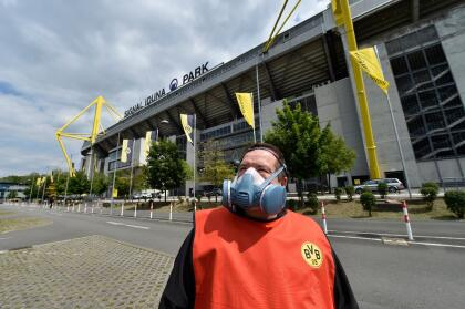 Se redujo al mínimo necesario el número de trabajadores de los estadios.