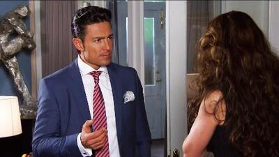 Eladio juró que no permitirá que David ande con Regina