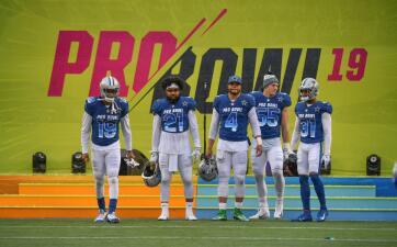 La AFC despacha a la NFC en la edición 2019 del Pro Bowl en Orlando