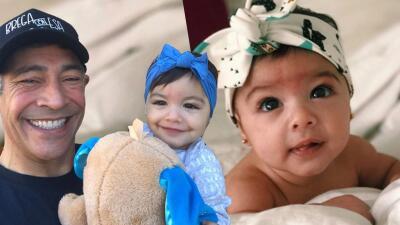 Ya cumplió un añito: mira las fotos más tiernas de Johnny Lozada con su nieta Amaia