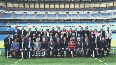 Admiración y respeto del Real Madrid por el Salón de la Fama