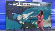 Disminuyen los niveles de polvo del Sahara este martes en Puerto Rico