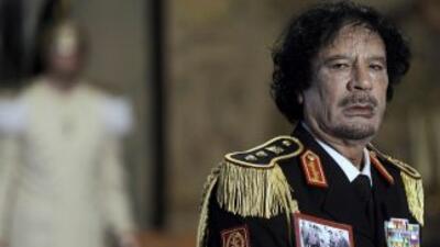 Demoran entierro de Gadafi por investigación sobre su muerte