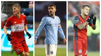 ¿Se quedan o se van? 'Schweini', Villa y Giovinco, entre otros, meditan sobre su continuidad en MLS
