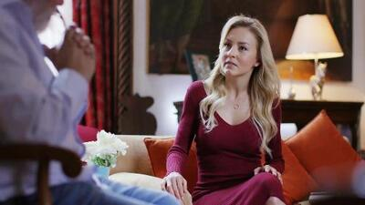 Camilo no se atrevió a revelarle a Lucía que León está en el cuerpo de Jacobo