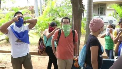 Nicaragua's Ortega bans public protests as crisis continues