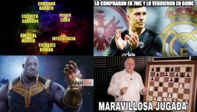 Memelogía   El fichaje de Jovic a Real Madrid se roba las burlas en el fútbol europeo