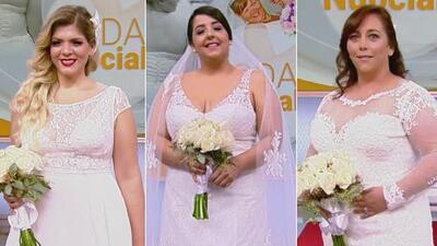 Ideales para mujeres con curvas: tres buenas opciones en vestidos de novia
