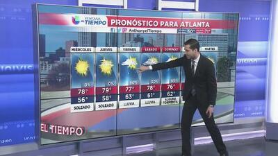 Las temperaturas subirán este miércoles; se anticipa más lluvia para el fin de semana