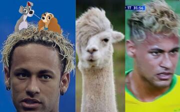 Memelogía   El peinado de Neymar genera las burlas más hilarantes en redes sociales