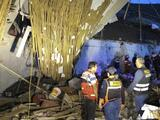 Mueren 15 personas aplastadas al caer un muro del hotel donde celebraban un matrimonio