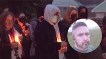 """""""Que se haga justicia"""": realizan una vigilia en memoria del conductor latino asesinado en Chicago"""