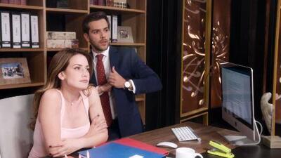 Roberto se puso celoso al encontrar a Victoria con Adrián