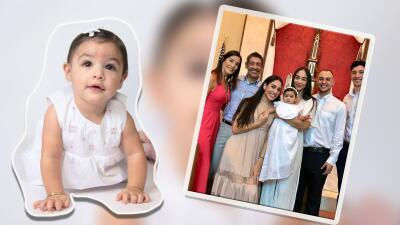 Fotos del bautizo de Amaia Rose, la nieta de Johnny Lozada