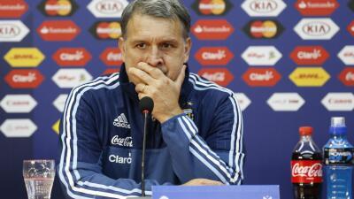 """Martino: """"Si perdemos dirán que faltó Messi y si ganamos lo minimizarán"""""""