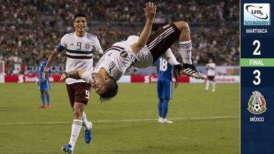 México volvió a ser perfecto y 'voló' a Cuartos de Final