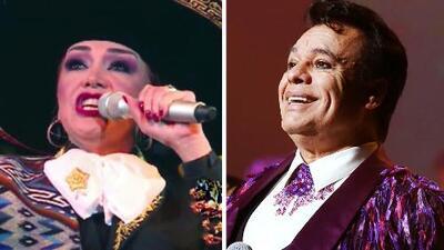 Aída Cuevas ya terminó el disco inédito que Juan Gabriel grabó cinco meses antes de su muerte