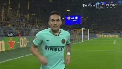 ¡Impresionante! Lautaro Martínez hizo lo que quiso y anota el 1-0 para el Inter